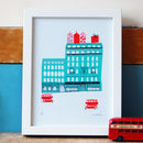 London Fortnum And Mason Print