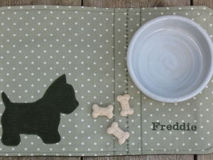 Feeding Mat For Dogs - dog bowls & mats