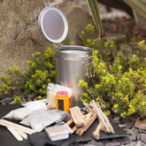 Waterproof Fire Lighting Tinder Kit - garden
