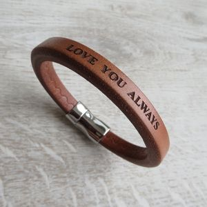 Leather Benedict Bracelet - view all sale items
