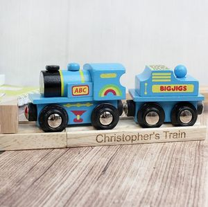 Personalised Train And Track - traditional toys & games