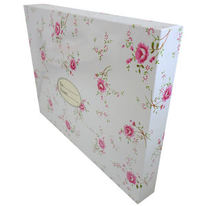 Wedding Day Pink Floral Gift Box