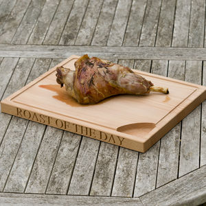 Roast Of The Day Chopping Board