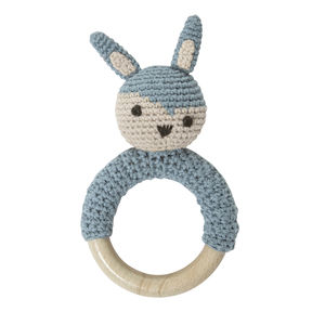 Crochet Rabbit Rattle - baby & child sale