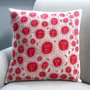 Happy Flower Cushion - cushions