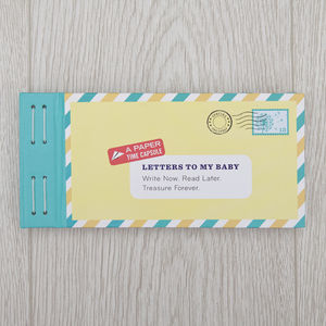 Letters To My Baby Writing Kit - shop by category