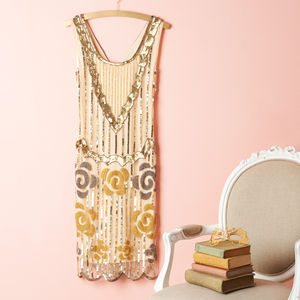 Audrey Gatsby Inspired Flapper Dress - dresses