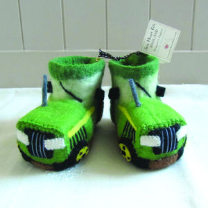 Children's Fergie The Tractor Slippers