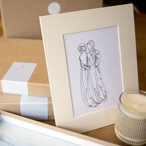 Personalised Wedding Dance Drawing