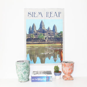 Cambodia Siem Reap Print - posters & prints