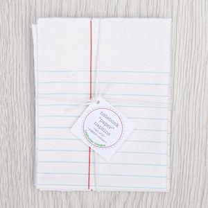 Notebook Cotton Napkins