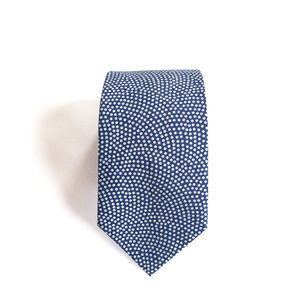 Nami Dotted Japanese Men's Tie - men's accessories