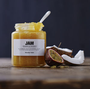 Passion And Coconut Jam