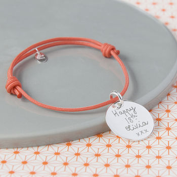 Personalised Happy Birthday Charm Bracelet