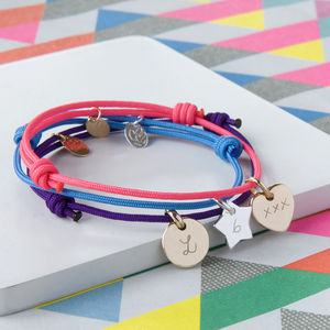 Children's Initial Friendship Bracelet - children's accessories