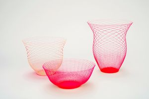 Pack Of Three Neon Air Vases