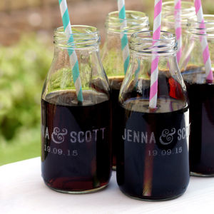Personalised Wedding Welcome Drink Bottle