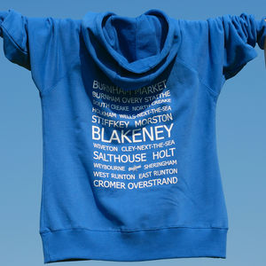Betty Blakeney Destinations Hooded Sweatshirt - hoodies & sweatshirts