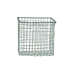 Vintage Zinc Mail Basket - shop by room