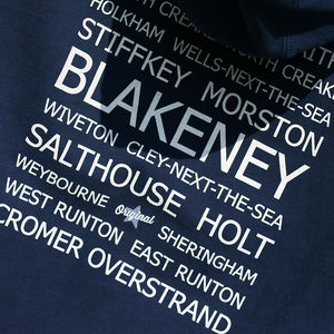 Hedge Blakeney Destinations Hooded Sweatshirt - men's fashion