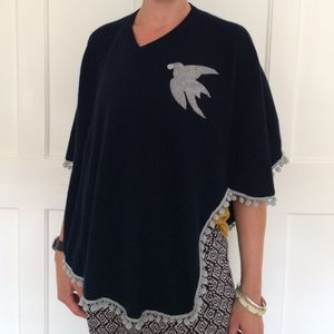 Adult Cashmere Poncho - women's fashion