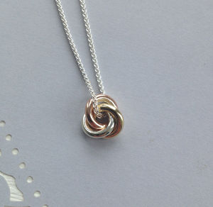 Eternity Solid 9ct Gold Medium Pendant