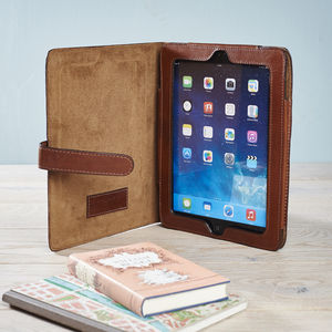 Leather iPad Mini Cover With Stand - tablet accessories