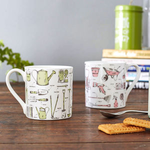 Green Fingered Gardening Mug