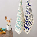 Sandcastles And Carousels Tea Towel
