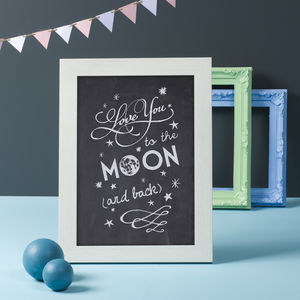 'To The Moon And Back' Print - kitchen accessories