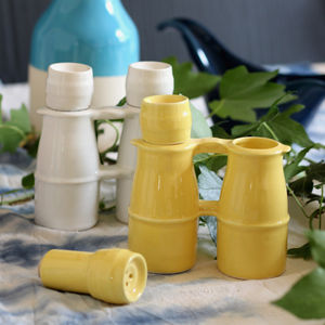 Binocular Salt And Pepper Pots