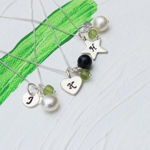 Personalised Birthstone Necklace - women's jewellery