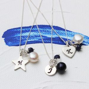 Personalised Birthstone Necklace - more