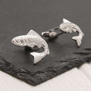 Fish Cufflinks - men's accessories