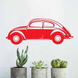 Classic Car Vinyl Wall Sticker Side View