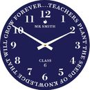 Personalised Best Teacher Wall Clock