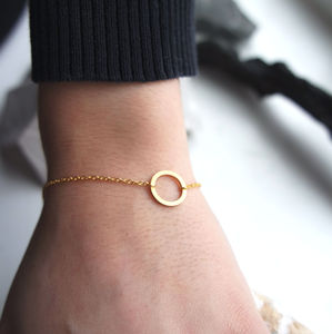 Open Circle Bracelet - contemporary jewellery