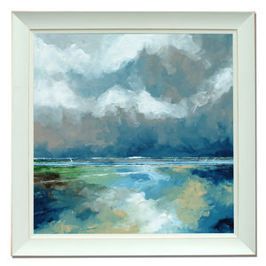 Grey Sky And Clouds - canvas prints & art