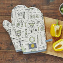 British Barbecue Oven Mitt