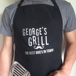 'Best BBQ's In Town' Apron
