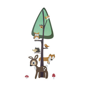Forest Design Height Chart Sticker - home sale