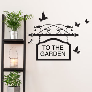 Personalised Sign Vinyl Wall Sticker - home accessories