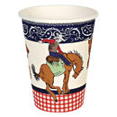 Cowboy Party Wild West Paper Cups