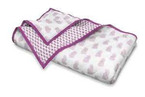Cotton Quilted Blanket - blankets & throws