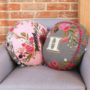'Ampersand' Patterned Cushion