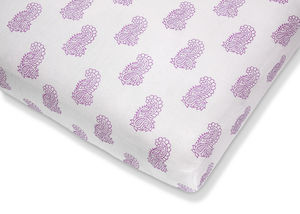 Fitted Cot Sheet - bed linen