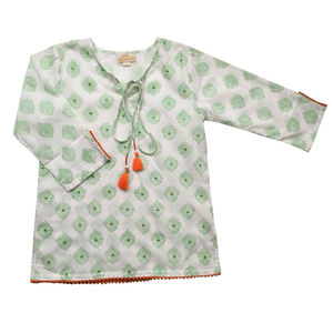 Green Beach Kaftan - clothing