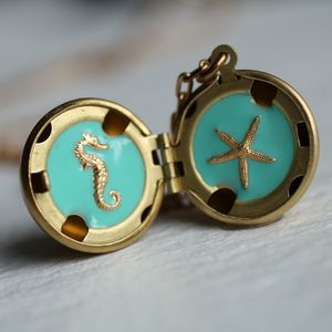 Nautical Treasure Locket