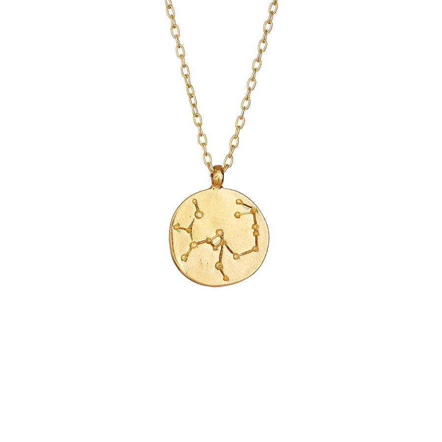 We Are All Made Of Stars Sagittarius Necklace Gold