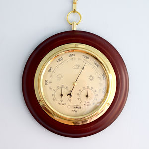 Personalised Wooden Weather Forecast Dial - kitchen